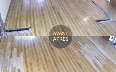 Remplacer ou restaurer un plancher de bois endommagé